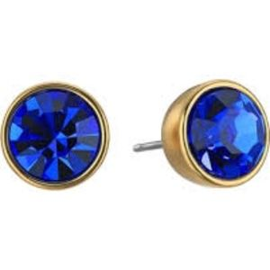 Kate Spade NY Sparkle Stud Earrings in Blue/Gold